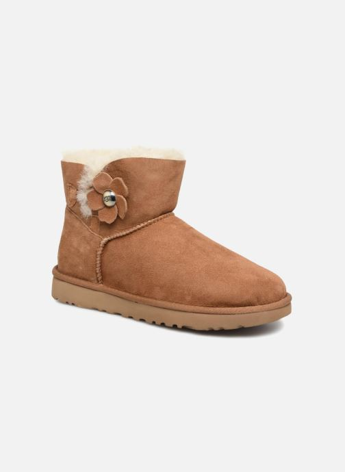 5d927f67135 UGG Mini Bailey Button Poppy W (Brown) - Boots & wellies chez ...