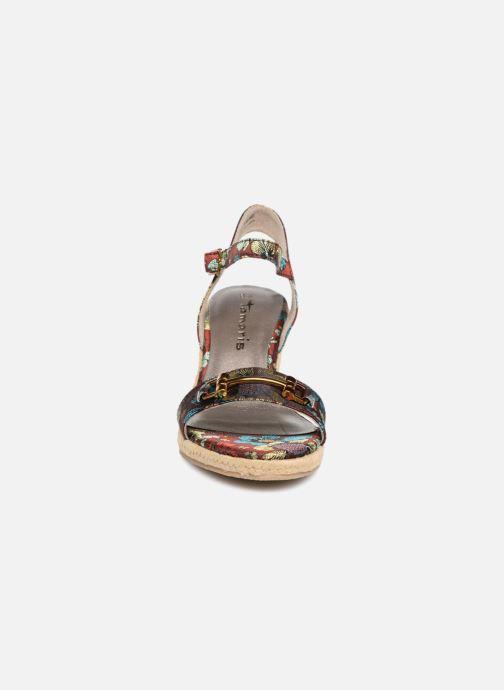 Espadrilles Tamaris 28048 Multicolore vue portées chaussures