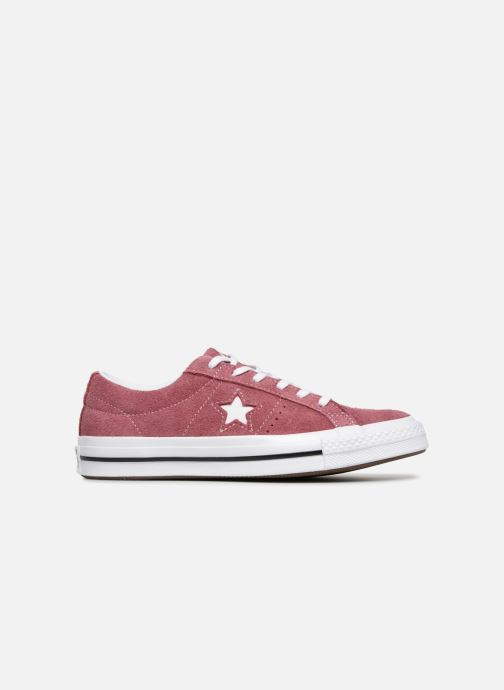 Trainers Converse One Star Vintage Suede Ox Burgundy back view