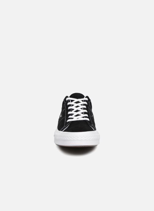 Sneakers Converse One Star Vintage Suede Ox Zwart model