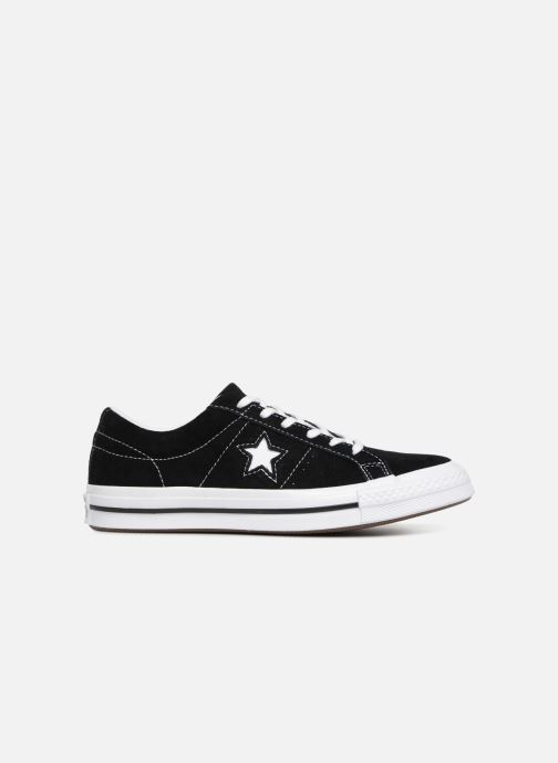 Trainers Converse One Star Vintage Suede Ox Black back view