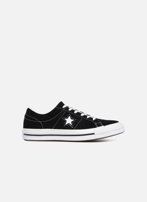 Sneakers Converse One Star Vintage Suede Ox Zwart achterkant