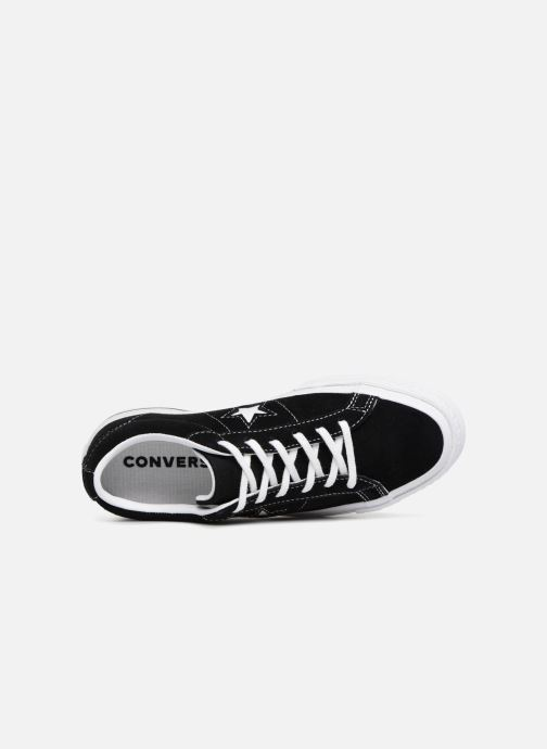 Sneakers Converse One Star Vintage Suede Ox Zwart links
