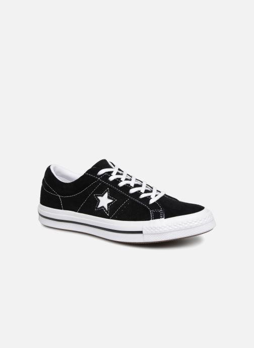 Sneakers Converse One Star Vintage Suede Ox Zwart detail