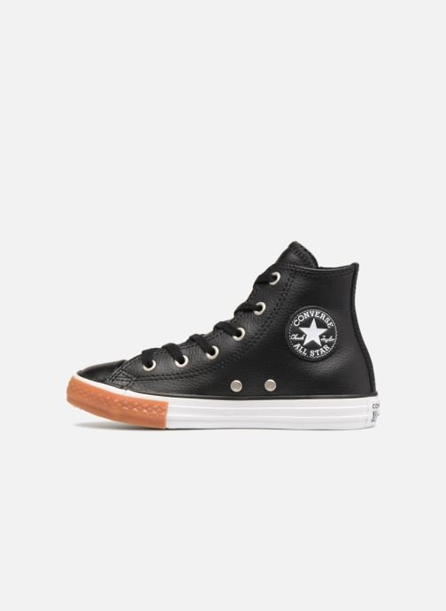 Trainers Converse Chuck Taylor All Star No Gum in Class Hi Black front view