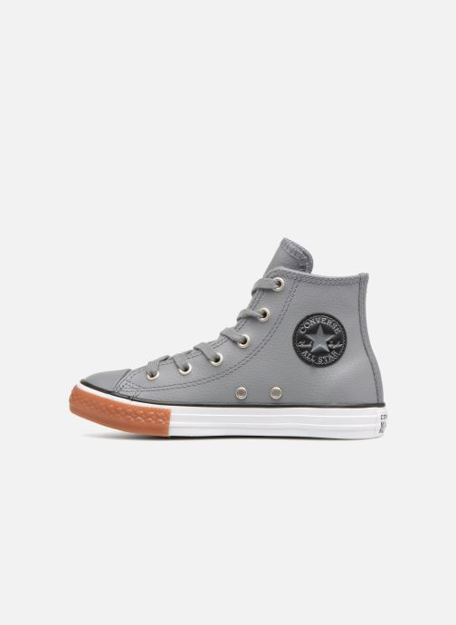 Trainers Converse Chuck Taylor All Star No Gum in Class Hi Grey front view