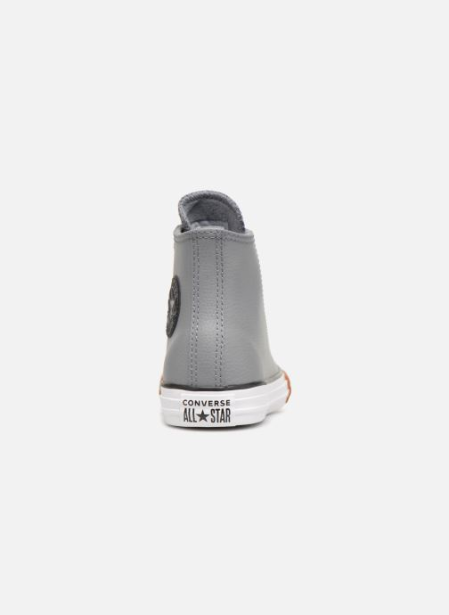 Trainers Converse Chuck Taylor All Star No Gum in Class Hi Grey view from the right