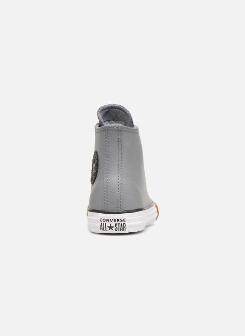 Sneaker Converse Chuck Taylor All Star No Gum in Class Hi grau ansicht von rechts