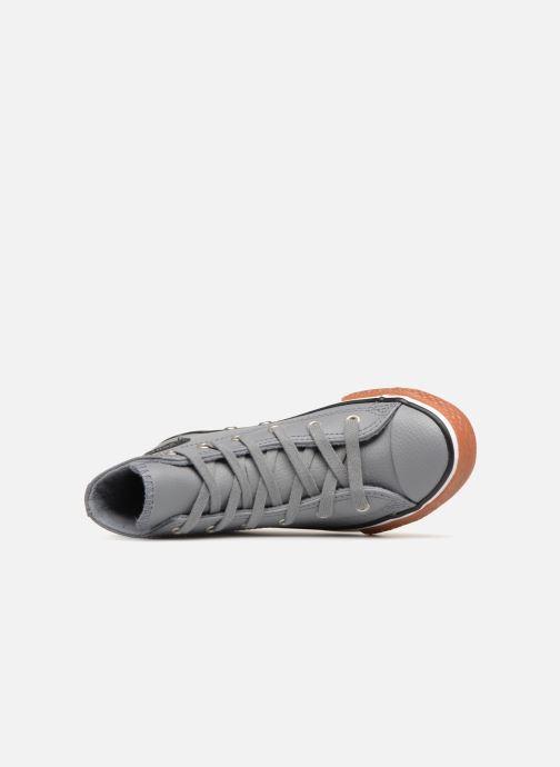 Sneaker Converse Chuck Taylor All Star No Gum in Class Hi grau ansicht von links