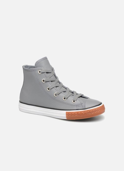 Trainers Converse Chuck Taylor All Star No Gum in Class Hi Grey detailed view/ Pair view