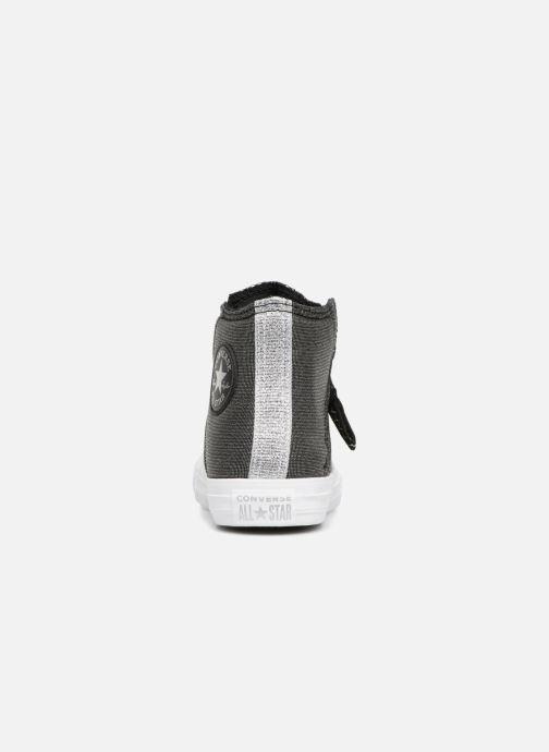 Sneaker Converse Chuck Taylor All Star Pull-Zip Fairy Dust Hi schwarz ansicht von rechts