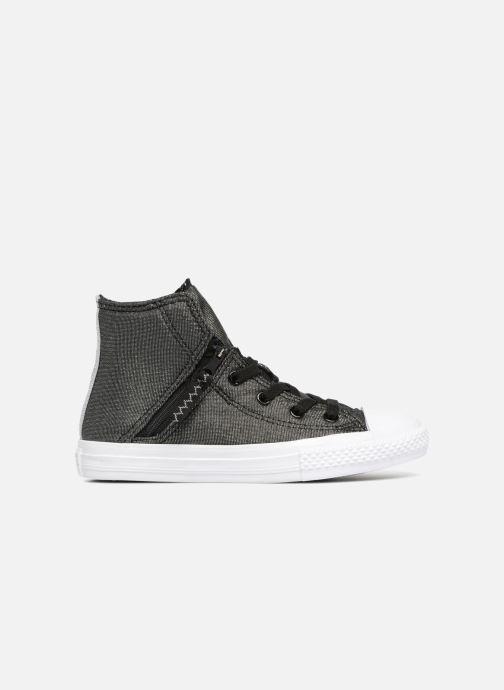 Sneaker Converse Chuck Taylor All Star Pull-Zip Fairy Dust Hi schwarz ansicht von hinten