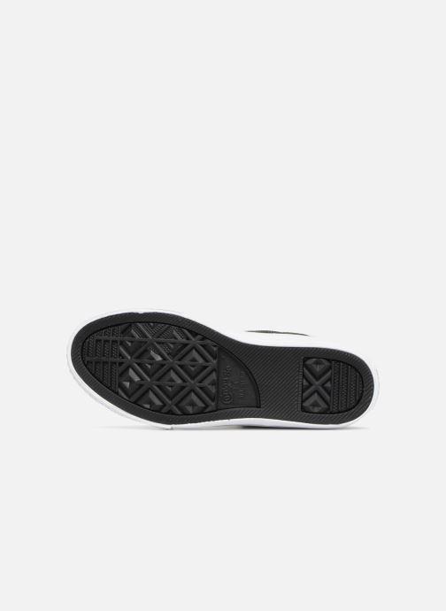 Sneaker Converse Chuck Taylor All Star Pull-Zip Fairy Dust Hi schwarz ansicht von oben