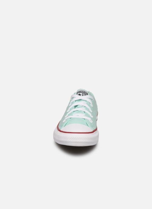 Baskets Converse Chuck Taylor All Star Seasonal Color Ox Bleu vue portées chaussures
