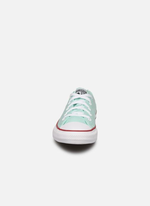 Sneaker Converse Chuck Taylor All Star Seasonal Color Ox blau schuhe getragen