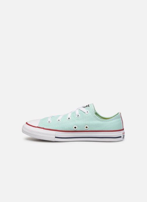 Sneaker Converse Chuck Taylor All Star Seasonal Color Ox blau ansicht von vorne