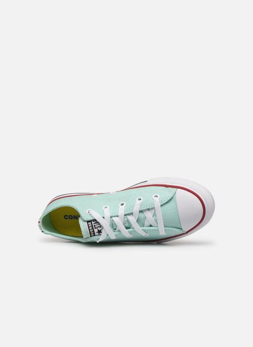 Sneaker Converse Chuck Taylor All Star Seasonal Color Ox blau ansicht von links