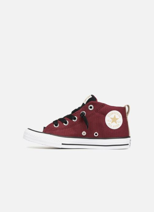 59ef15569453 Trainers Converse Chuck Taylor All Star Street Fall Uniform Mid Burgundy  front view