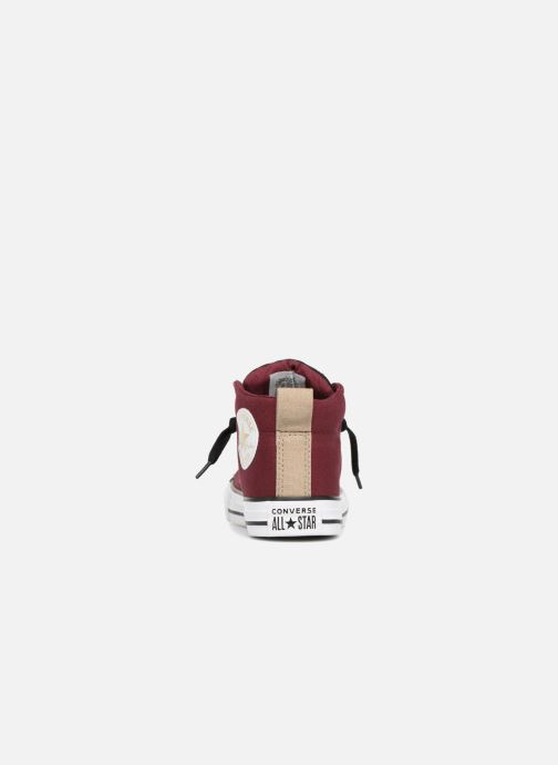 6b1db9b98799 Trainers Converse Chuck Taylor All Star Street Fall Uniform Mid Burgundy  view from the right