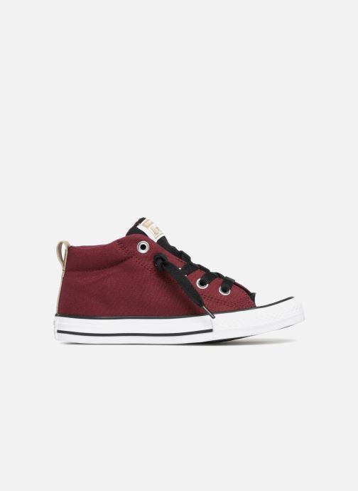 Sneakers Converse Chuck Taylor All Star Street Fall Uniform Mid Vinröd bild från baksidan