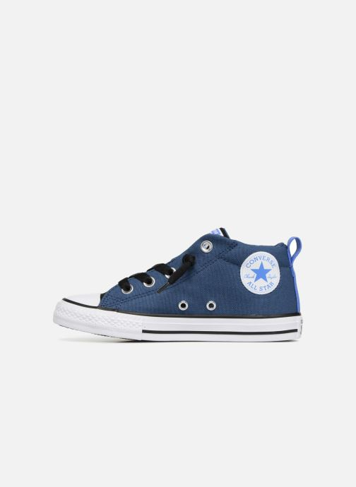 91d615b5943a97 Trainers Converse Chuck Taylor All Star Street Fall Uniform Mid Blue front  view