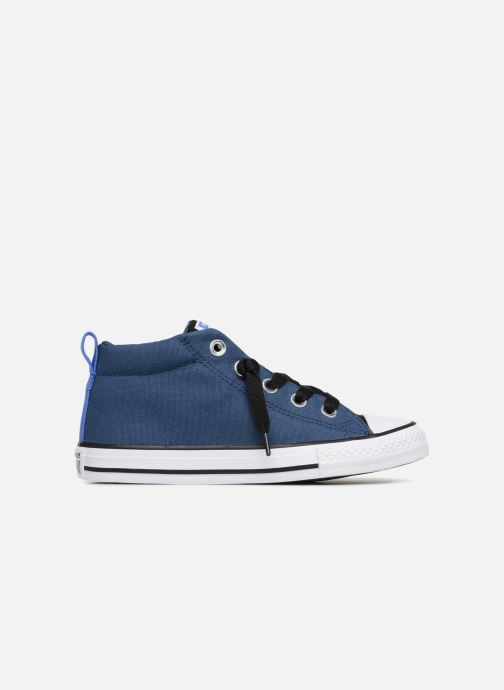 c4f6947c930646 Trainers Converse Chuck Taylor All Star Street Fall Uniform Mid Blue back  view