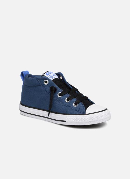 346b43174d3 Sneakers Converse Chuck Taylor All Star Street Fall Uniform Mid Blauw detail