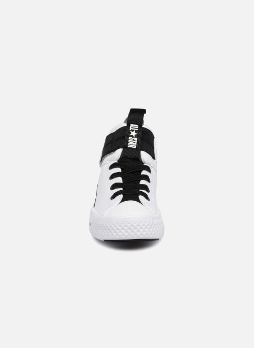 Sneaker Converse Chuck Taylor All Star High Street Lite School Scrimmage Hi J weiß schuhe getragen