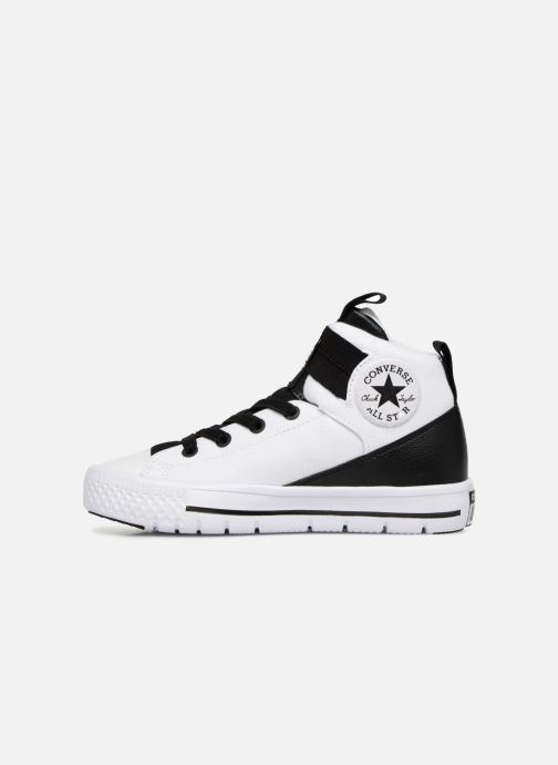 Trainers Converse Chuck Taylor All Star High Street Lite School Scrimmage Hi J White front view