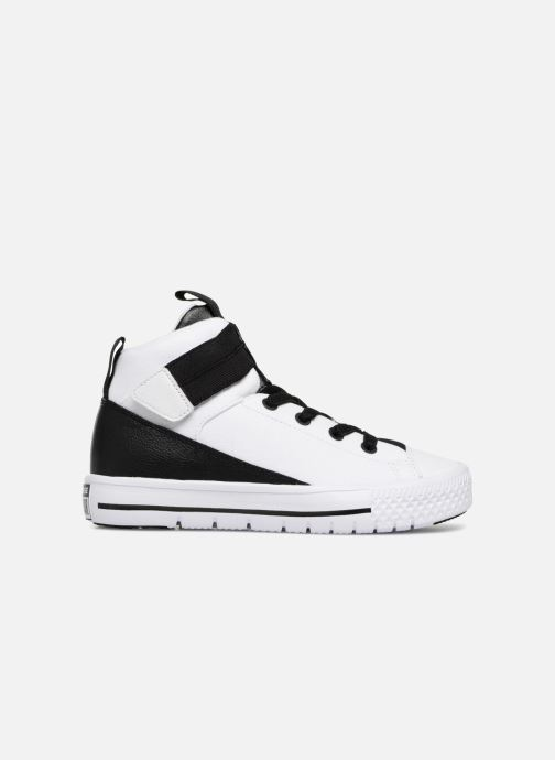 Sneaker Converse Chuck Taylor All Star High Street Lite School Scrimmage Hi J weiß ansicht von hinten