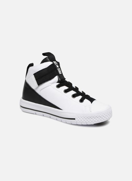 Trainers Converse Chuck Taylor All Star High Street Lite School Scrimmage Hi J White detailed view/ Pair view