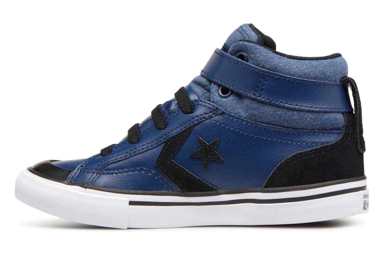 Sneakers Converse Pro Blaze Strap Fall Mash Up Hi J Blauw voorkant