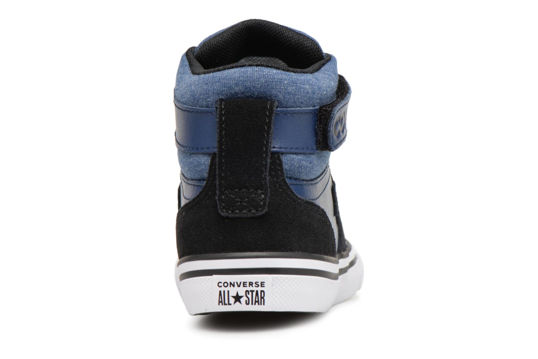 Sneakers Converse Pro Blaze Strap Fall Mash Up Hi J Blauw rechts