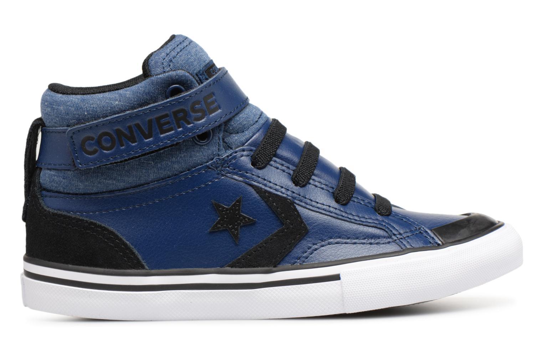 Sneakers Converse Pro Blaze Strap Fall Mash Up Hi J Blauw achterkant