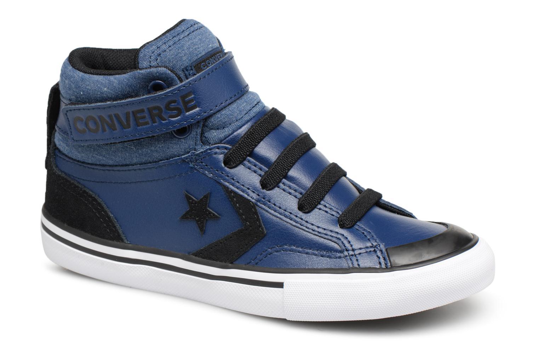 Sneakers Converse Pro Blaze Strap Fall Mash Up Hi J Blauw detail