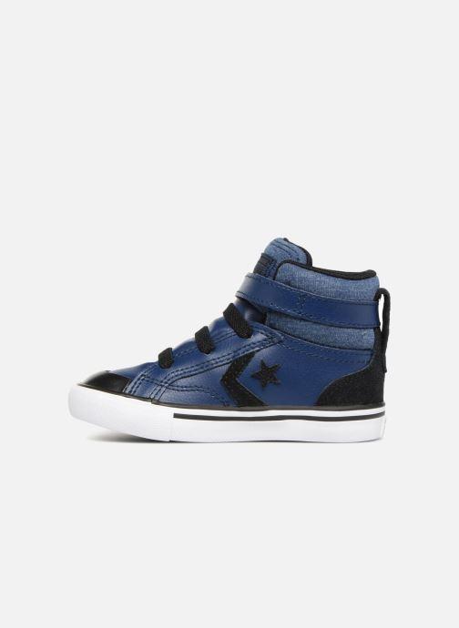 Sneakers Converse Pro Blaze Strap Fall Mash Up Hi Blauw voorkant