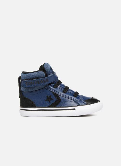 Sneakers Converse Pro Blaze Strap Fall Mash Up Hi Blauw achterkant