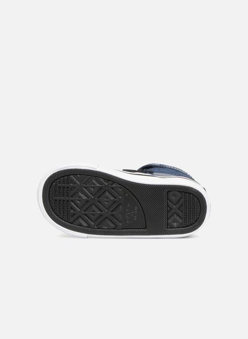 Sneakers Converse Pro Blaze Strap Fall Mash Up Hi Blauw boven