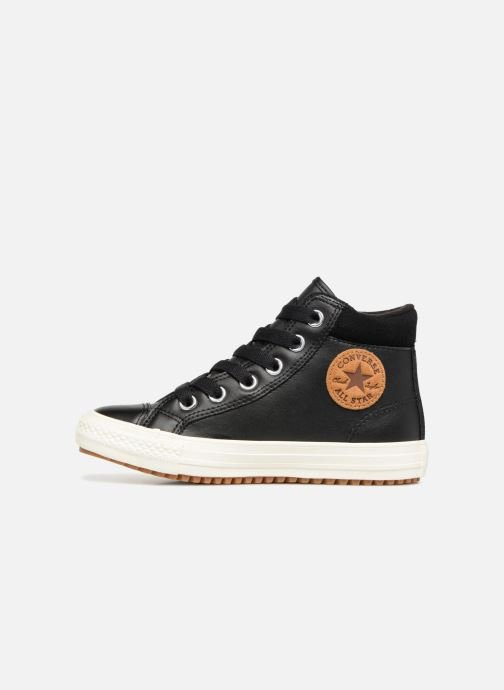 Sneakers Converse Chuck Taylor All Star PC Boot Sole Full of Gum Hi Zwart voorkant