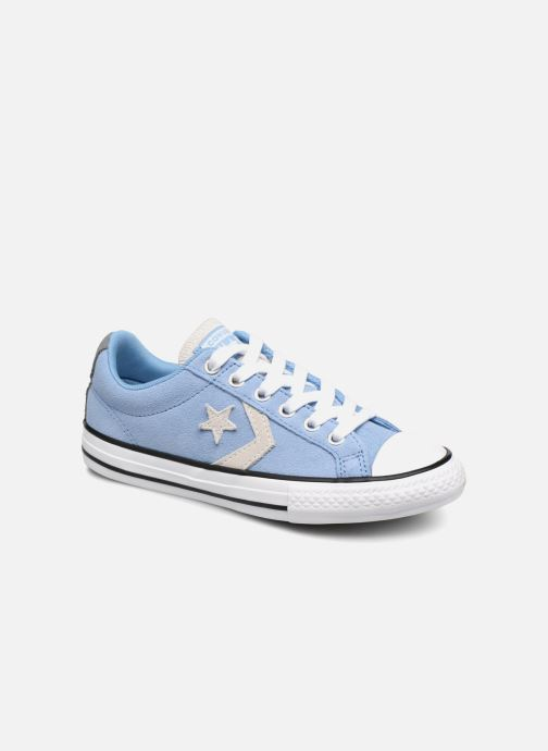 Deportivas Converse Star Player Athletic Suede Ox Azul vista de detalle / par