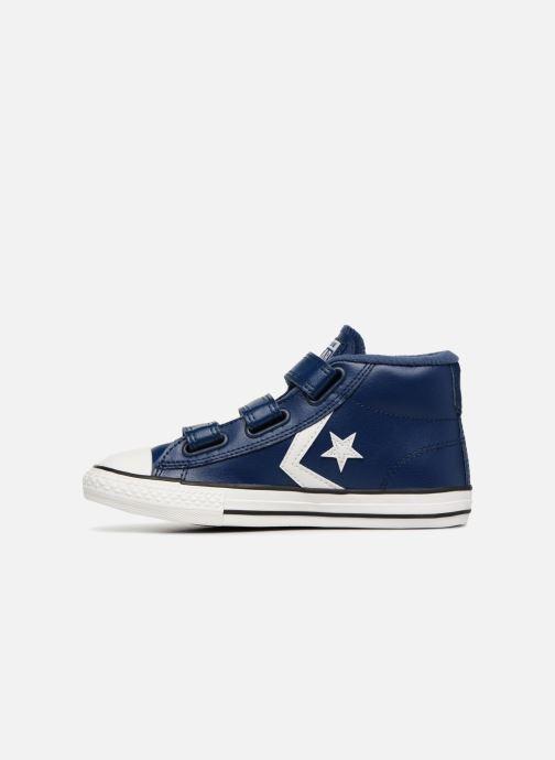 Sneakers Converse Star Player 3V Varsity Turf Mid Blauw voorkant