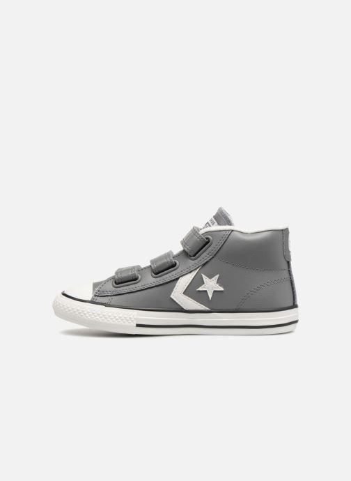 Sneakers Converse Star Player 3V Varsity Turf Mid Grijs voorkant