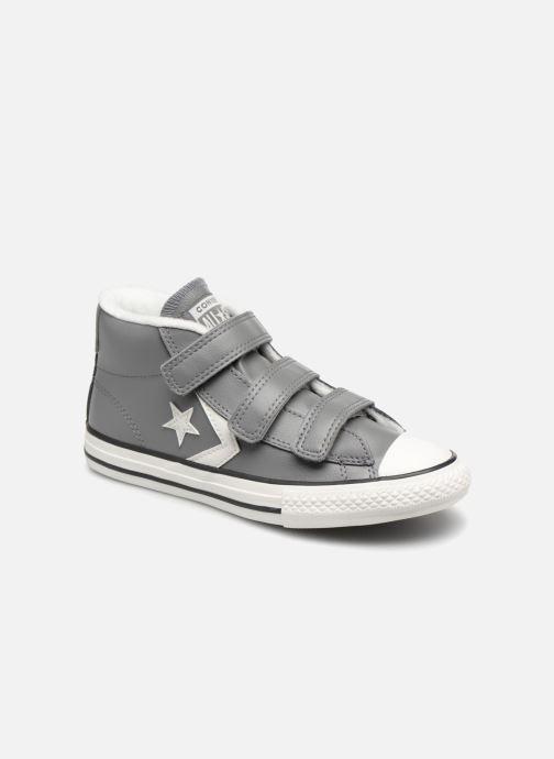 Sneakers Converse Star Player 3V Varsity Turf Mid Grijs detail
