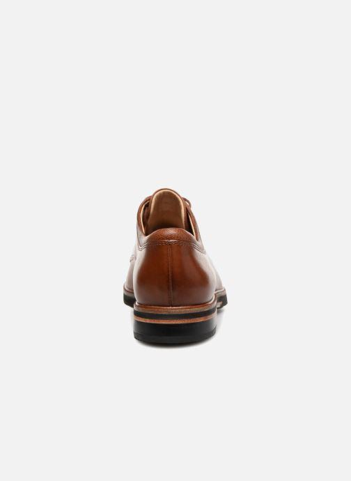 Chaussures à lacets Clarks Frida Derby Marron vue droite