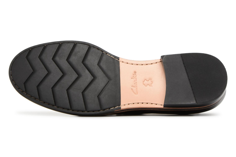Chaussures à lacets Clarks Frida Derby Noir vue haut