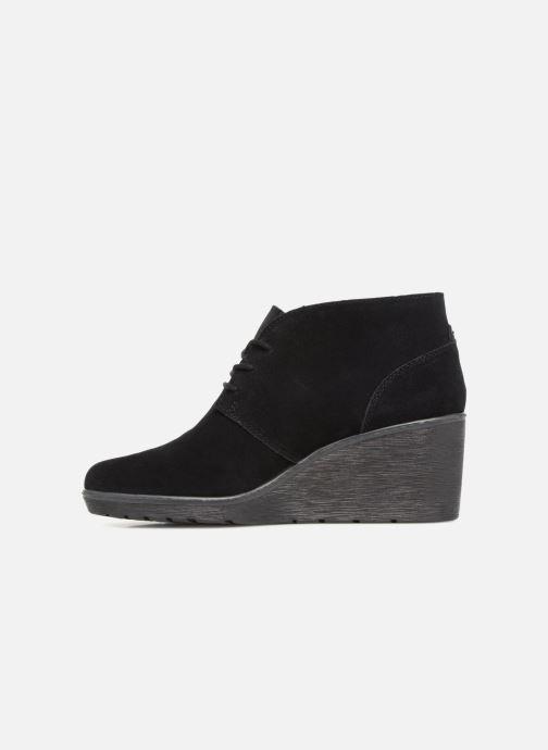 Bottines et boots Clarks Hazen Charm Noir vue face