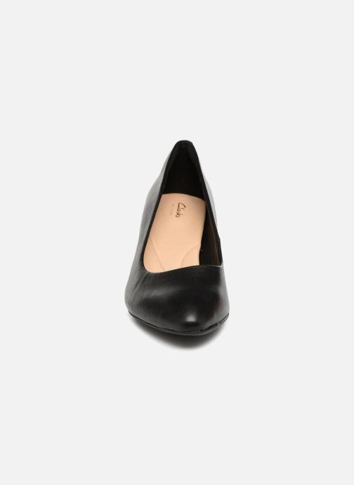 Escarpins Clarks Calla Rose Noir vue portées chaussures