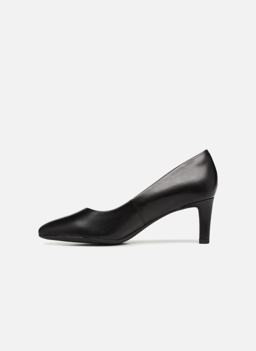Zapatos de tacón Clarks Calla Rose Negro vista de frente