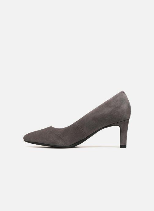 Zapatos de tacón Clarks Calla Rose Gris vista de frente