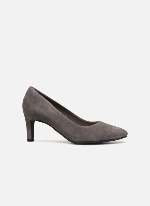 Zapatos de tacón Clarks Calla Rose Gris vistra trasera